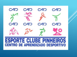 Reunião de Apresentação - Esporte Clube Pinheiros