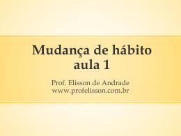 recompensa - Prof. Elisson de Andrade
