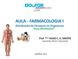 Aula 6: Farmac. Distribuição Farm.