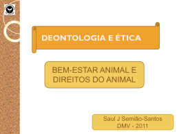 Teorias de bem-estar animal e direitos dos animais