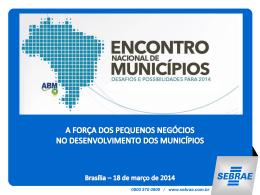 Bruno Quick – Gerente de Políticas Públicas do SEBRAE