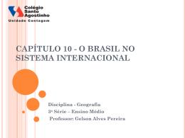 capítulo 14 * comércio, comunicações e turismo no brasil