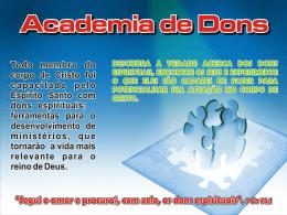 Slide 1 - Academia de Dons