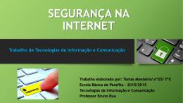 7ºE Tomas Monteiro, 25 - Agrupamento de Escolas de Perafita