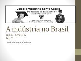SC- Indústria no Brasil