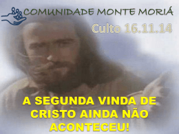CULTO 161114 – II Co 8 e 9