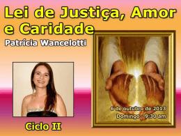 Lei de justiça amor e caridade Lei de Reproduç