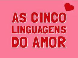 Confirmando a sua Linguagem de amor