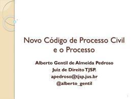 Projeto de Novo CPC - Escola Judicial do TRT 11ª Região