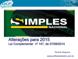 Palestra do Simples Nacional (UNIPEC)