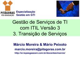 3. Transição de Serviços - Lopes & Gazzani Planejamento Ltda