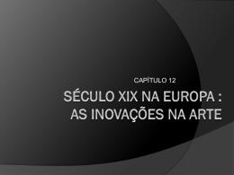século xix na europa
