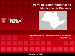 Perfil do Setor Industrial