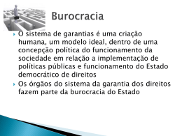 Apresentação em Slides 2 - Burocracia