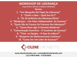 Workshop de Liderança