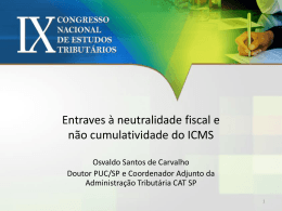 2. Neutralidade Fiscal