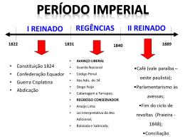 PERÍODO REGENCIAL 2o ano