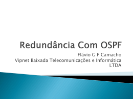 Redundance With OSPF