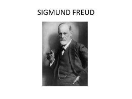 SIGMUNDO FREUD - Escola Quarup