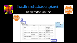 Manual de Resultados Brazil.Basketpt.net