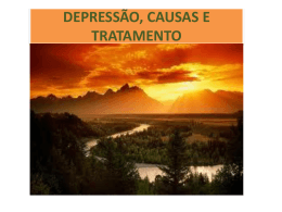 depressão-slides - Grupo Espírita Semeadores do Bem (GESB)