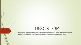 DESCRITOR