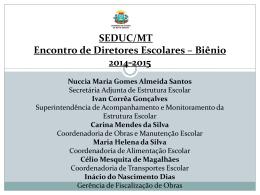 Apresentação Rede Física Agosto de 2014