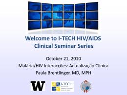 Slide 1 - Global Health Clinical Seminar Series