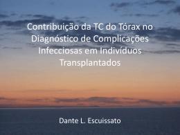 Contribuição da TC do Tórax no Diagnóstico de