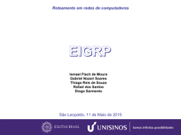 O protocolo EIGRP