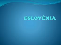 ESLOVÊNIA - projetocopacilt