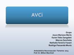 Ambulatório Neurovascular – disciplinas