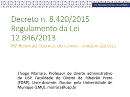 Regulamento da Lei 1284-2013_Thiago Marrara