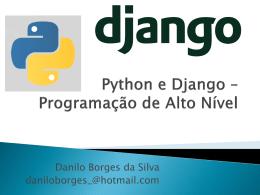 Python e Django #U2013 Programa#U00e7#U00e3o