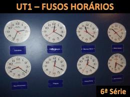 fusos horários - Portal Educacional