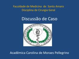 Discussão de Caso Clinico