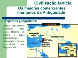 Antiguidade Oriental Parte II Fen*cios, Persas e Hebreus