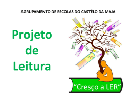 PPT EE - Agrupamento de Escolas do Castelo da Maia