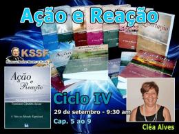 Ação e Reação - Cap. 5, 8 e 9 (CleaA)