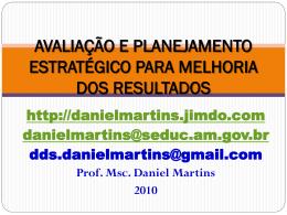 avaliação e planejamento estratégico para melhoria dos resultados