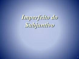 Imperfeito-do
