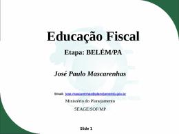 Educação Orçamentária para municípios