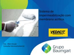 VEDACIT – Sistema de impermeabilização com