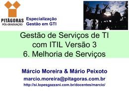 6. Melhoria de Serviços