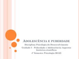 Adolescência e puberdade