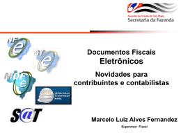 Apresentação SESCON Documentos Eletrônicos.