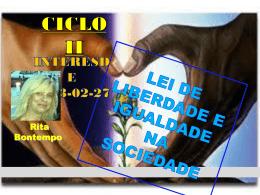 Lei de Liberdade e Igualdade na Sociedade (RitaB)
