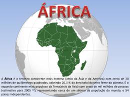 África - Colégio Energia Barreiros