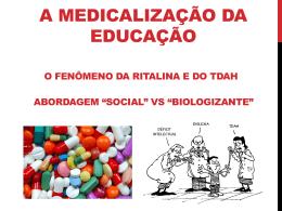 Medicalização da Educação
