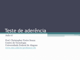 Slide 1 - Universidade Federal de Alagoas